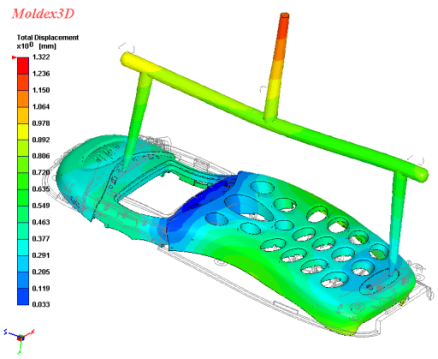CAD computer aided design moldex 3d model