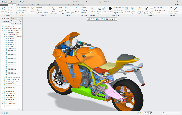 cad computer aided design model
